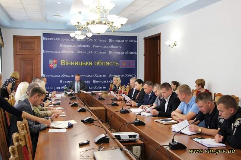 Новини Вінниці / На Вінниччині потужно готуються до відзначення 28-ї річниці незалежності України