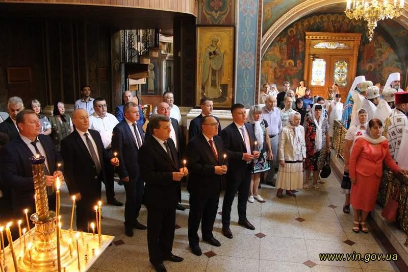 Новини Вінниці / У Вінниці та області святкування Дня Незалежності України розпочалось з молитви за Україну (ФОТО)