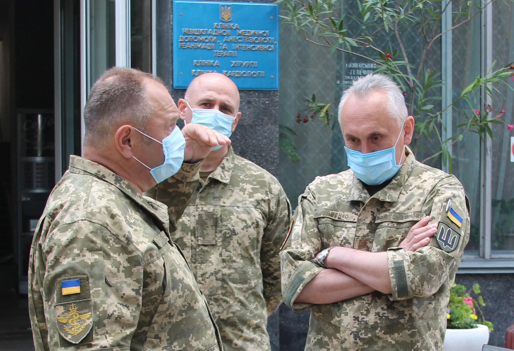 В Виннице в военном госпитале открыли реконструированное отделение травматологии