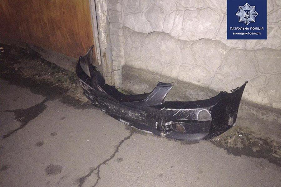 Новини Вінниці / У Вінниці п'яний водій після ДТП напав на медиків
