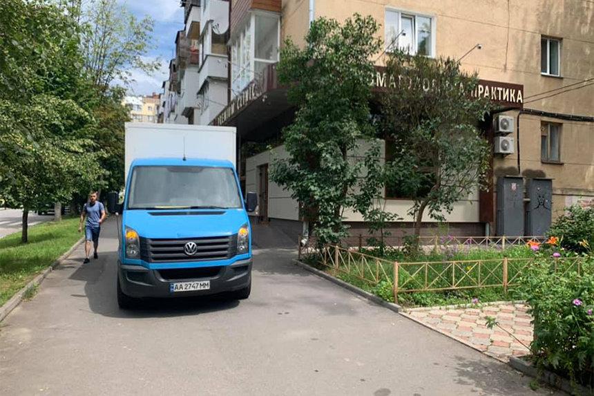 Новини Вінниці / У Вінниці на тротуарі вантажівка збила пенсіонера