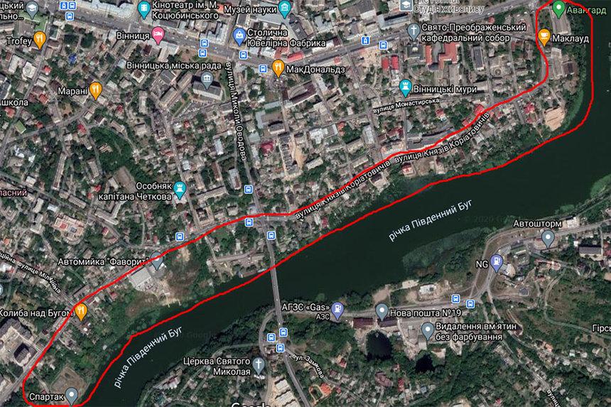 Новини Вінниці / У Вінниці затвердили майбутню забудову набережної у середмісті