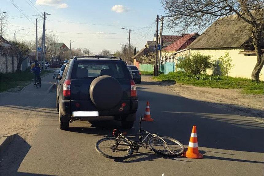 Новини Вінниці / У Вінниці водій Chery збив велосипедиста. Хлопця госпіталізували