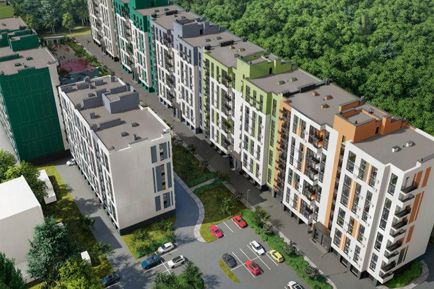 Новини Вінниці / У Вінниці впритул до Лісопарку збудують цілий район на майже тисячу квартир